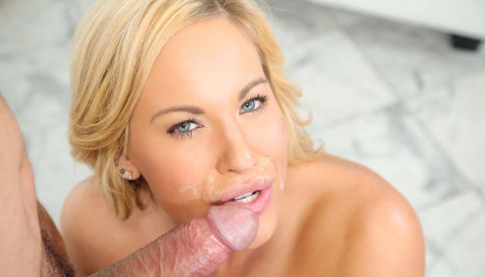 Breathtaking cum guzzler Olivia Austin making that cock bust