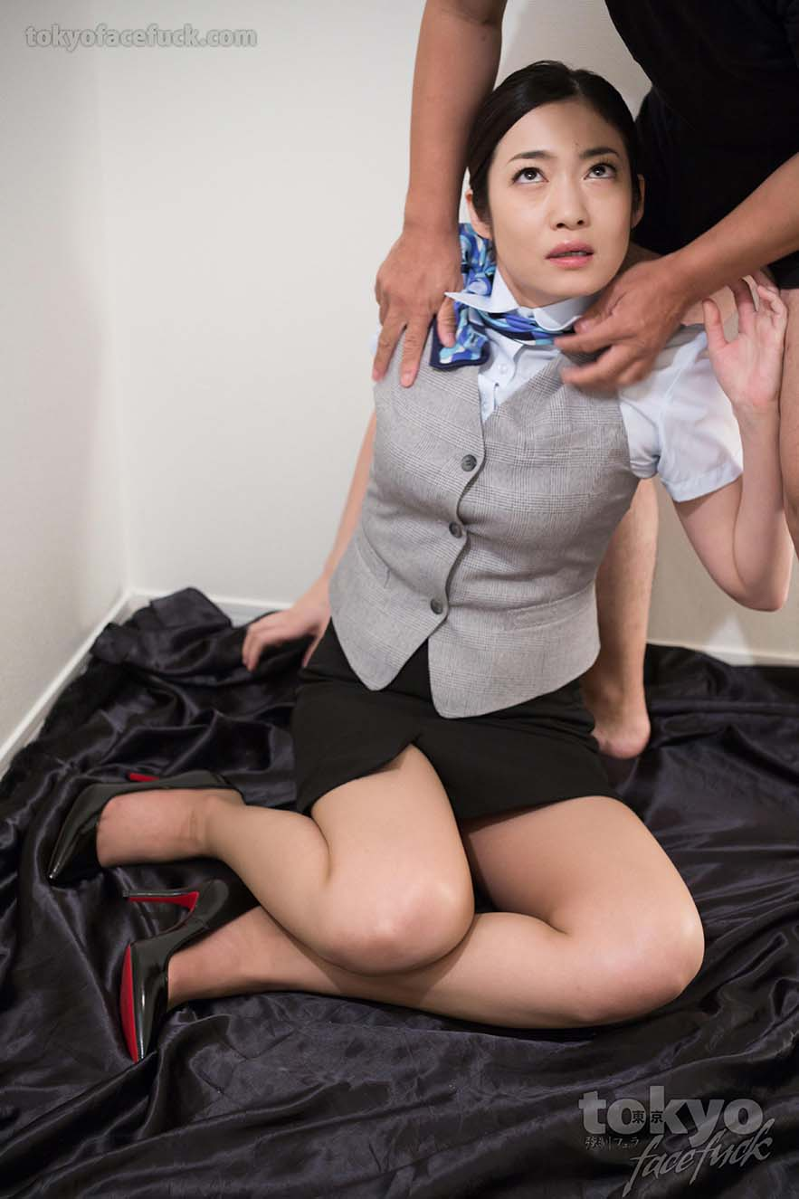 Lady in office the chinese pantyhose
