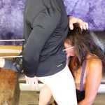 Summer Knight's fourth extreme face fuck & anal double penetration