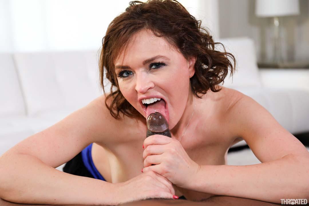 image Hot deepthroat sex with christen courtney