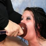 Filthy Skank Whore Mallory Maneater Gets All Her Holes Smashed