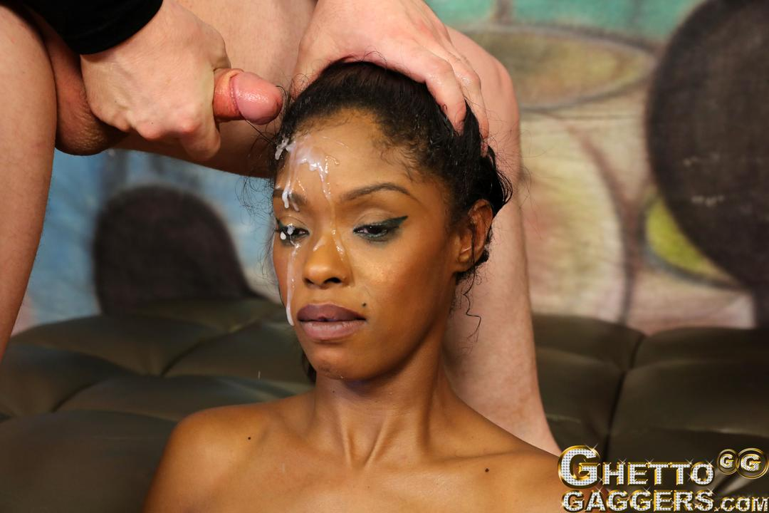 New nasty ghetto throat slut sade sparx back after tap out
