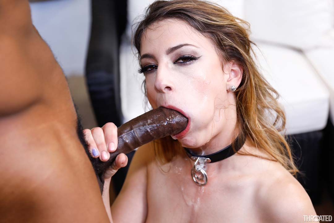Huge 10 Inch Black Cock Penetrates Kristen Scotts Tight -9236