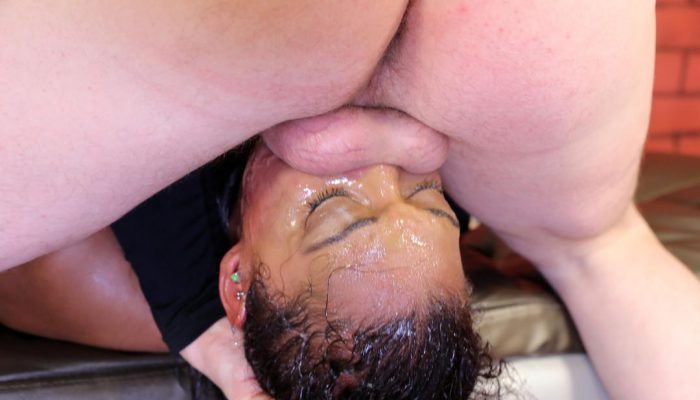 You Can Fuck Her Face This Deep With Your Cock?