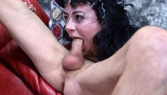 Look! Brutal Throat & Ass Fucking With Obedient Whore
