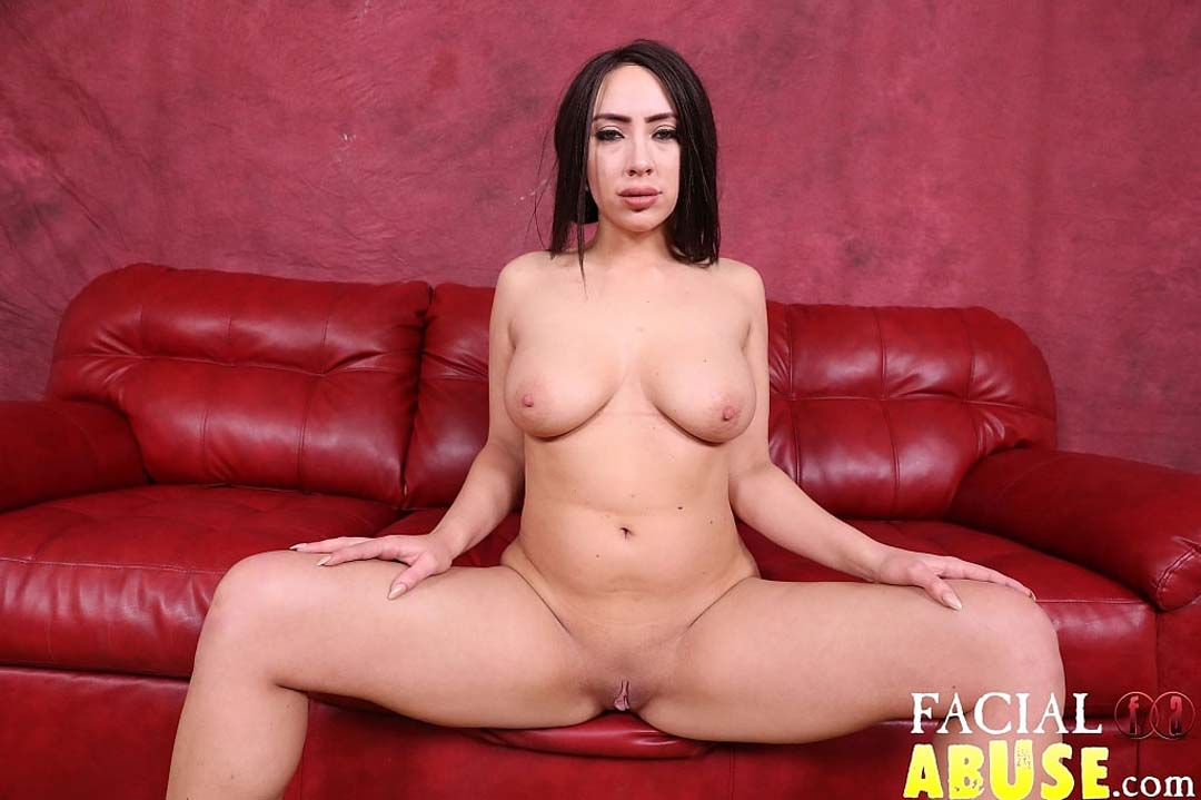 Just Released Dumb Big Tits Whore Gets Brutally Face -1586