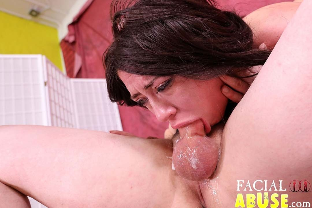 Just Released Dumb Big Tits Whore Gets Brutally Face -3797