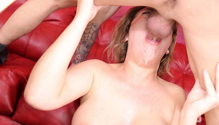 LOOK! Busty Barbie Fuck Doll Gets Her Throat Impaled With Angry Cock