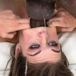 Anastasia Rose Takes 13 Inches of BBC Deep in Her Wet Throat & Tight Ass