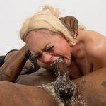 Zoe Clark's Nasty Interracial Face Fuck Puke Video