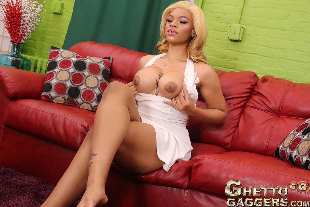 Ghettogaggers big tits Just Released Third Time For The Tall Big Tits Anal Whore At Ghetto Gaggers