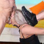 Hot Blonde Anally Abused and Throat Fucked With 18 Erect Inches!