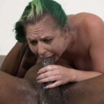 10 Inch Angry Black Cock Smashes White Sluts Throat & Pussy